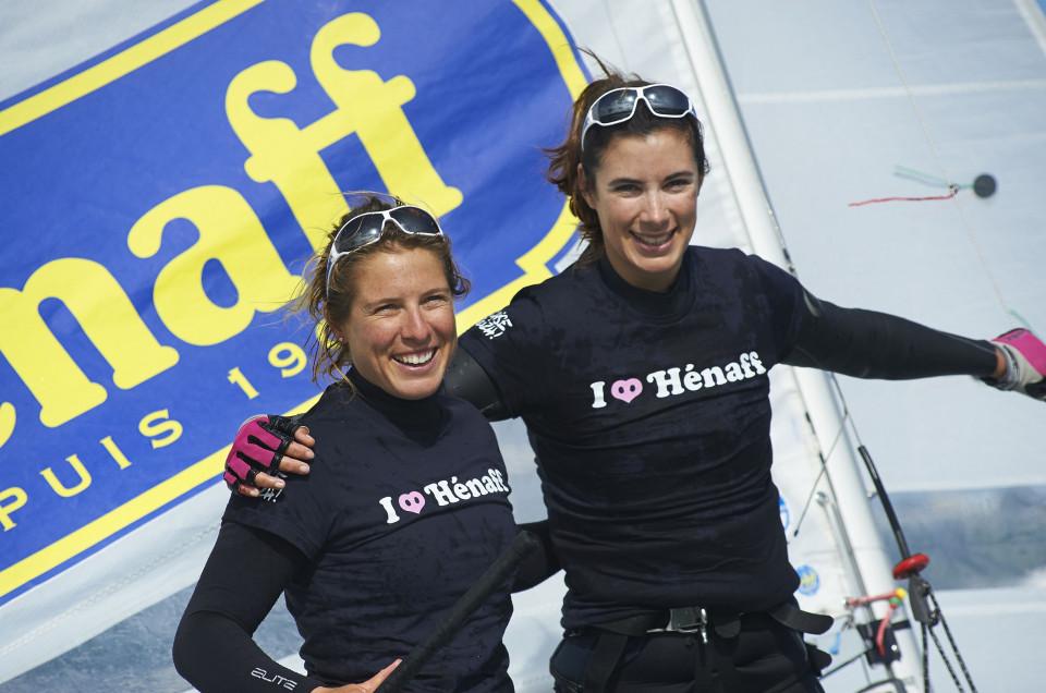 Camille Lecointre et Hélène Defrance  championnes du monde