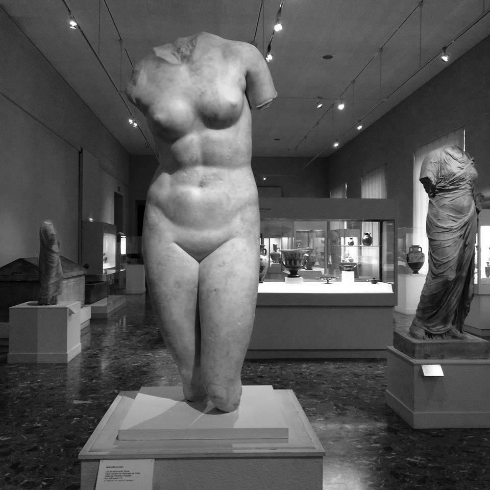 Aphrodite au Bain, au Musée d'Art et d'Histoire à Genève